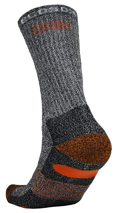 Bamboo Full Cushion Hiking/Outdoor Crew Socks | Keep Your Feet Dry | Odor & Blister Free.
